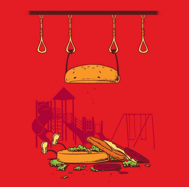 Foto de Caricaturas con comida (14/15)