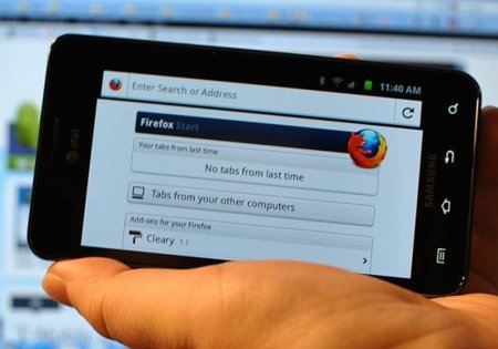Firefox 7 disponible para Android