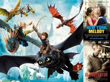Estrenos de cine | 1 de agosto | Dragones, enamorados y protectores
