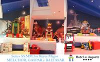 Los Reyes Magos, nuevas suites del Hotel del Juguete en Ibi, Alicante