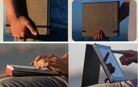 Funda DODOCase para el iPad, al estilo Moleskine