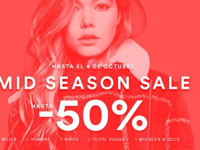 Rebajas de Mid Season en La Redoute: hasta 50% de descuento