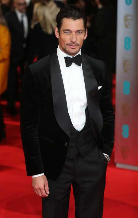 David Gandy pajarita esmoquin