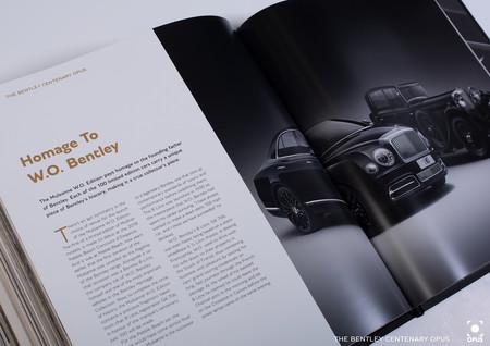 Bentley Libro Centenario Opus 3