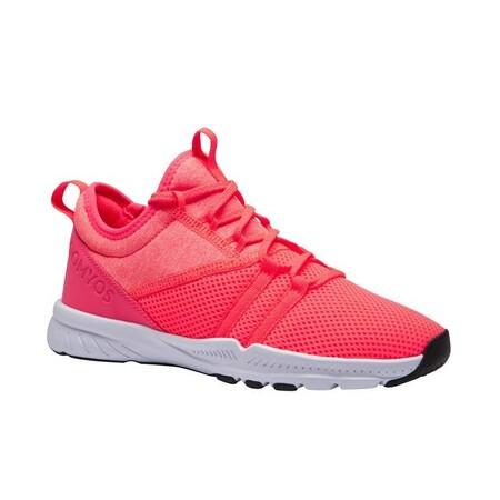 Zapatillas Fitness Domyos 120 Mid Mujer Coral