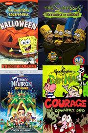 Series de animación para el día de Halloween