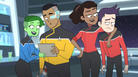 Tráiler de 'Star Trek: Lower Decks': la serie del guionista de 'Rick y Morty' promete una buena dosis de cachondeo animado