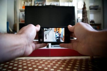 Viendo fotos y vídeos 3D en mi iPhone y ¡sin gafas!
