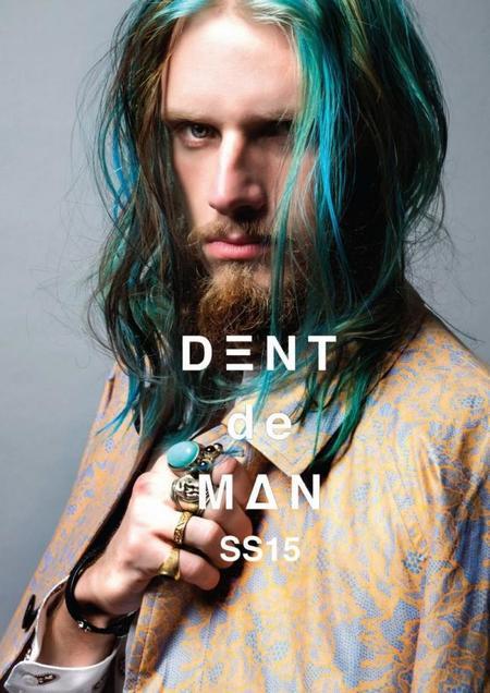 El color se apodera de la colección de primavera de Dent de Man