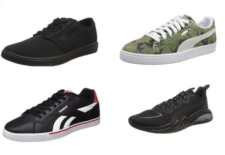 Chollos en tallas sueltas de zapatillas Reebok, Vans o Puma por menos de 30 euros en Amazon