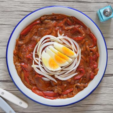 Receta de zorongollo tradicional, la deliciosa ensalada extremeña de pimientos