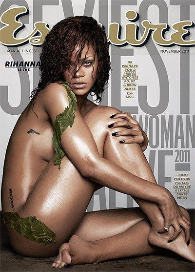 Rihanna al despelote en Esquire y nombrada la más sexy del mundo