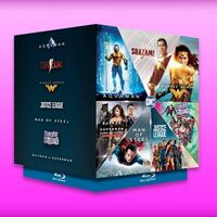 Colección de películas con 'Justice League', 'Wonder Woman y 'Batman v Superman' de ofertas en Amazon México por 609 pesos