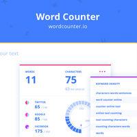 Este contador de palabras está genial diseñado y te ofrece muchos datos útiles sobre tu texto