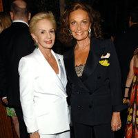 Carolina Herrera y Diane Von Fustenberg: el particular homenaje de dos veteranas