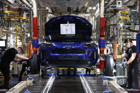 Produccion Toyota Yaris Cross 1