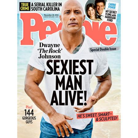 """A los pies del hombre más sexy vivo: Dwayne """"The Rock"""" Johnson"""