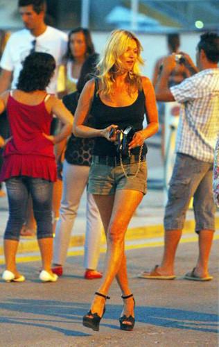 El look de Kate Moss en Ibiza