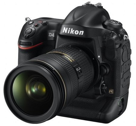 Nikon presenta su modelo más esperado: la D4