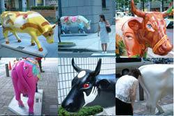 Cow Parade en Buenos Aires