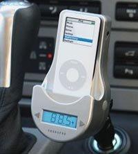 iPod en el coche, y con radio