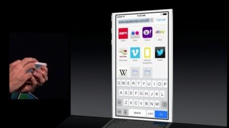 Safari iOS7 inicio