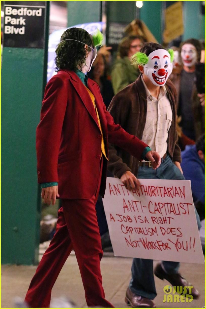 'Joker': imágenes del rodaje