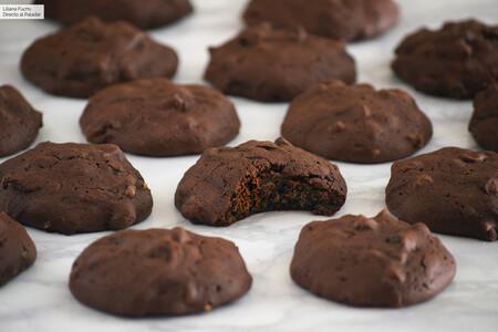 Cookies tiernas de doble chocolate: la receta de galletas de Martha Stewart para los más chocolateros