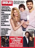 Piqué, Shakira y Milan: la familia feliz