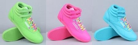 Las zapatillas Reebok Freestyle celebran sus 30 años a todo color