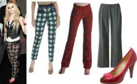 Pantalones de cuadros, ¡horror a la vista!