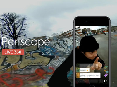 Twitter se suma a la retransmisión de vídeos de 360 grados mediante Periscope