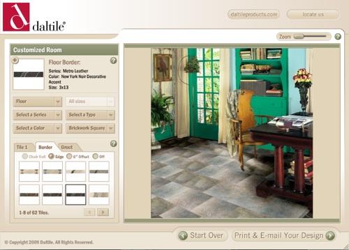 Daltile otro decorador virtual para probar for Decorador virtual hogar