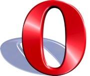 Navegador Opera en el iPhone