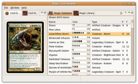 "Magic Assistant, gestor de colecciones de cartas ""Magic: The Gathering"""
