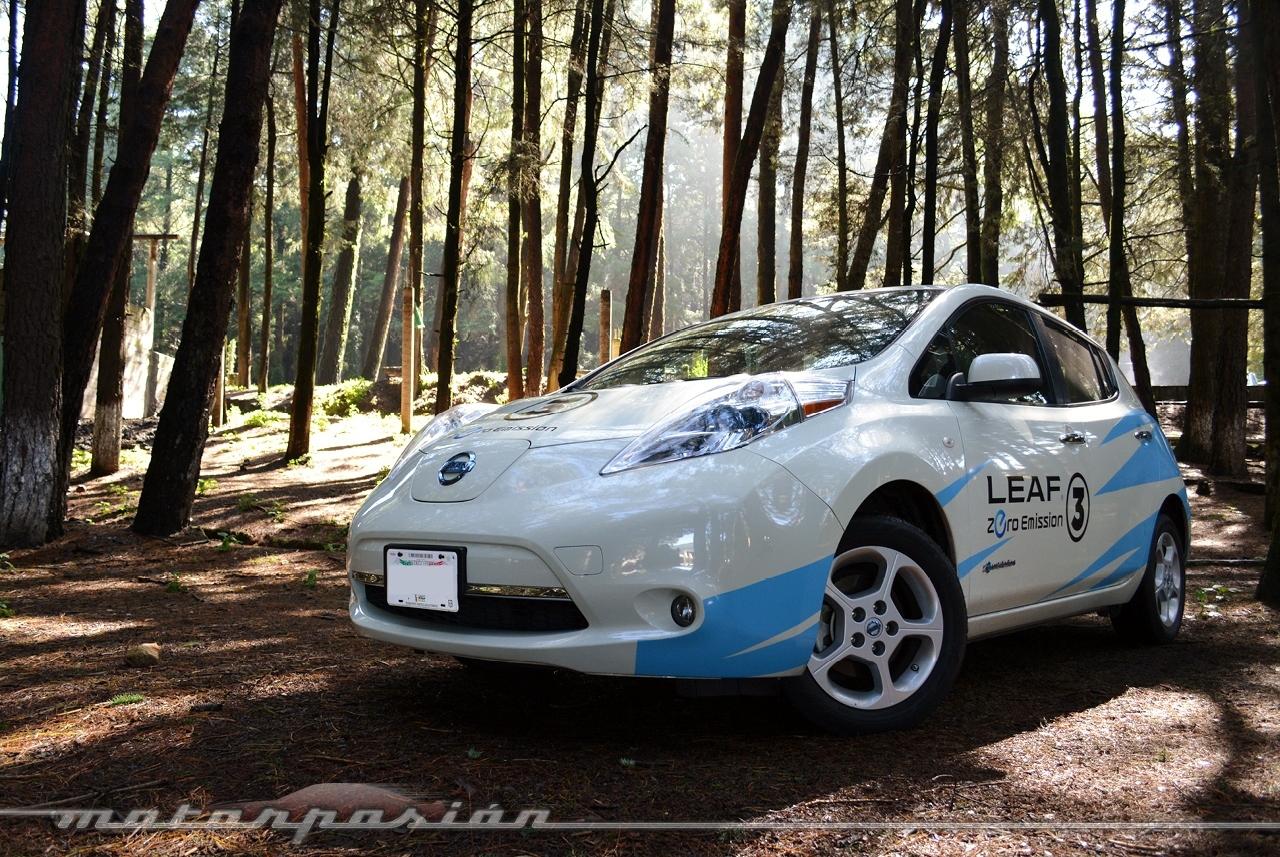 Nissan Leaf Prueba 40 60