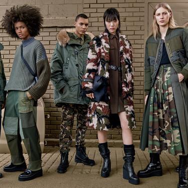 Zara SRPLS tiene los looks militares más rompedores que vas querer lucir esta temporada