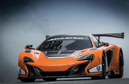 McLaren presenta el nuevo McLaren 650S GT3