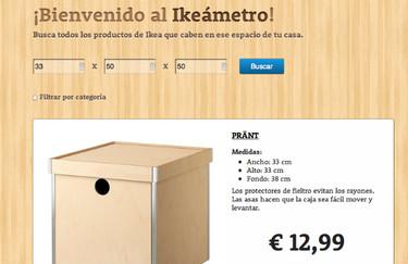 Ikeameter, una aplicación para saber qué mueble de Ikea te cabe