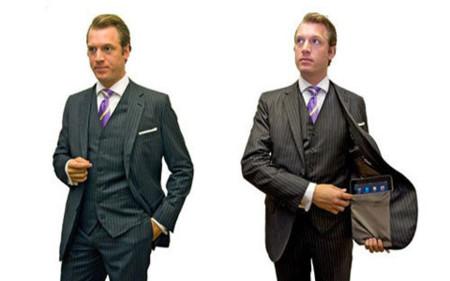 iOS traje y corbata