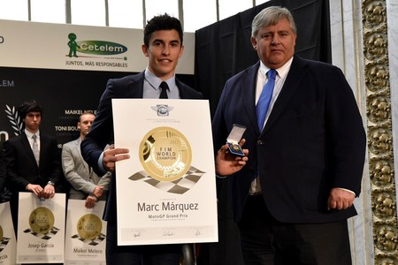 Marc Marquez Medalla Oro Merito Deportivo 2018