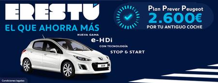 Peugeot continua ofreciendo su Plan Prever