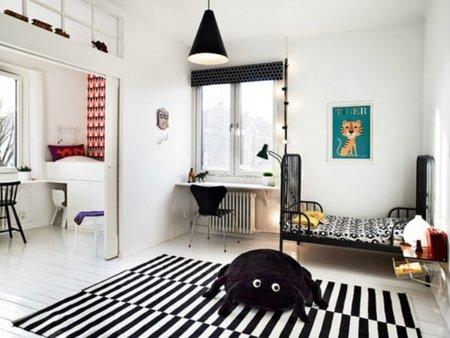 Cómo decorar un dormitorio infantil con pocos elementos
