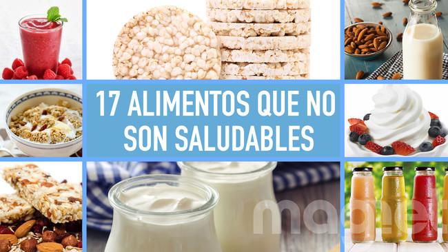 """Casi todos los alimentos que se venden con fama de ser """"sanos"""" son tan insalubres como los demás"""