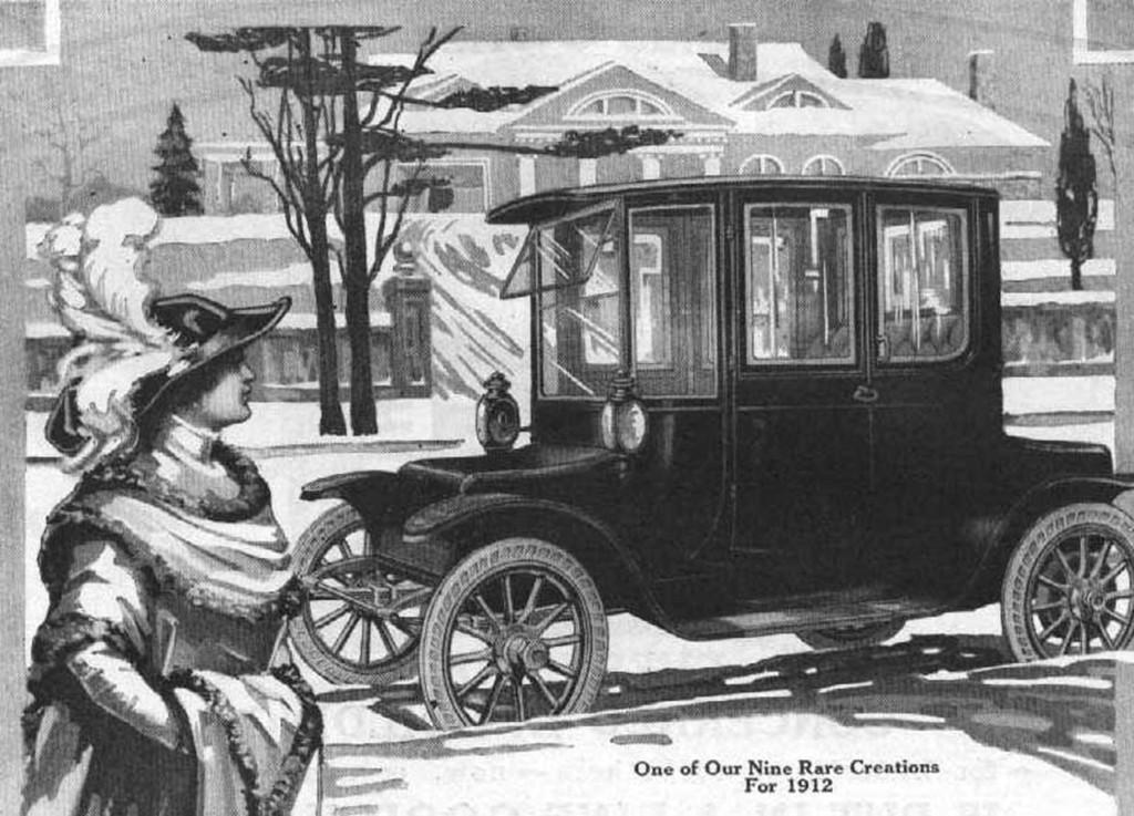 Detroit Eletric Ad 1912