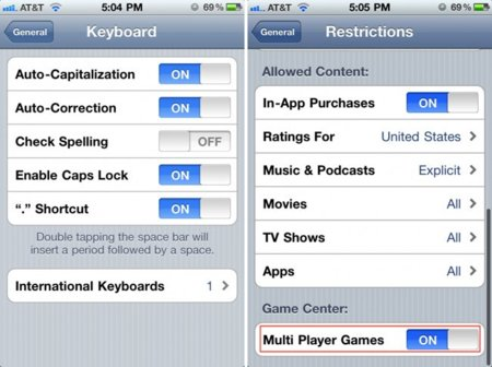 Apple iOS 4.1 firmware update actualización de software
