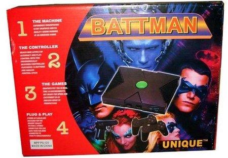 BATTMAN, la consola única. Un WTF!? en toda regla