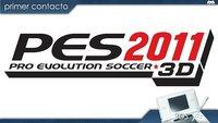 'Pro Evolution Soccer 2011 3D'. Primer contacto