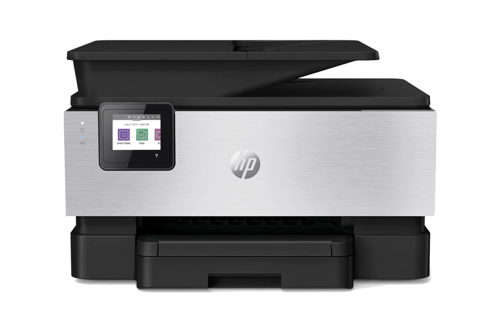 Impresora Multifunción Tinta HP OfficeJet Pro 9019, Wi-Fi, copia, escanea, envía fax, compatible con Instant Ink