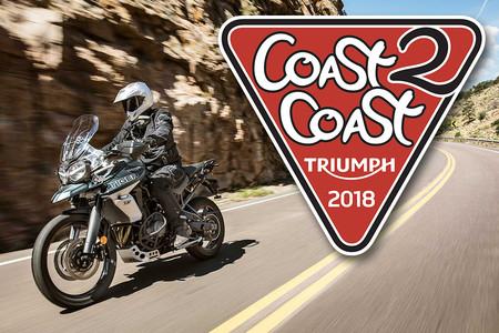 'Coast 2 Coast' de Triumph: Un viaje de más de 1.000 km de Valencia a Lisboa pasando por Madrid